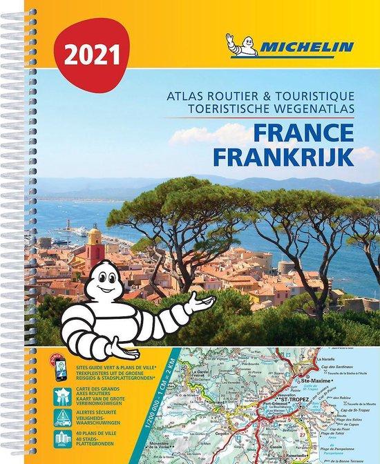 Boek cover ATLAS MICHELIN FRANCE 2021 van  (Paperback)