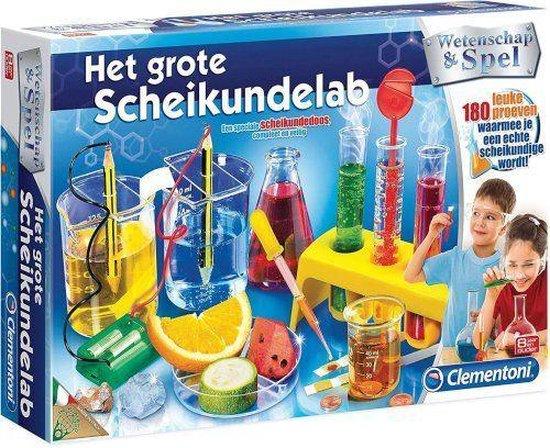 Het Grote Scheikundelab - Wetenschap & Spel