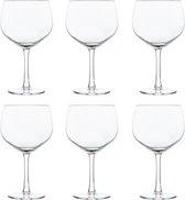 Libbey Cocktailglas Joya Gin Tonic - 650 ml / 65 cl - 6 Stuks - Vaatwasserbestendig - Hoge kwaliteit - Elegant design - Perfect voor een cocktailfeest aan huis
