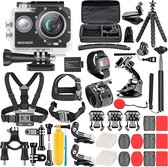 Neewer HD-vlog-camera met ingebouwde microfoon |ULTRA HD 4K–LCD-kleurenscherm – Complete set – accessoires – tripod – selfie stick – usb kabel