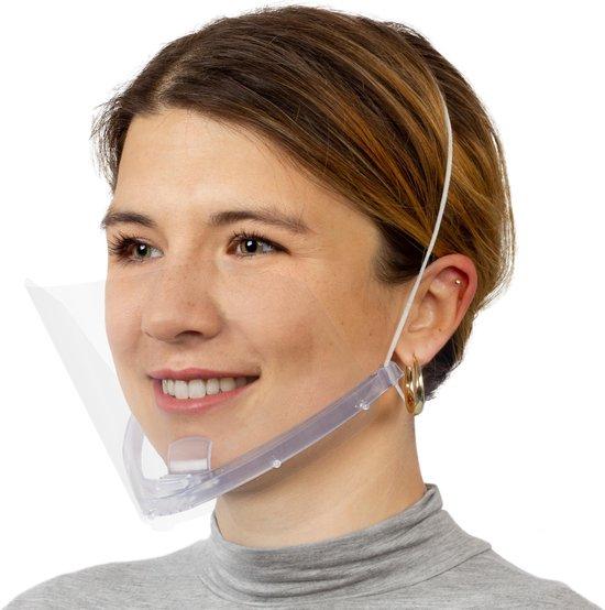 Afbeelding van Smile Shield Gezichtsmasker - 1 stuks incl. reservescherm