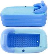 B-care Opblaasbaar Ligbad - Inclusief Elektrische Pomp – 160 CM - Zitbad – Bath Tub – Royale Luchtbad – Badkuip – Opblaasbare Badkuip - Opvouwbaar bad - Zwembad – Opblaas Zwembad – Ligbad met Afdekzeil – Opvouwbaar - Voor Kinderen en Volwassenen