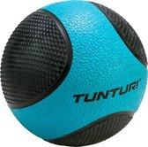 Tunturi Medicine Ball - Medicijnbal - 4kg - Blauw/Zwart - Rubber