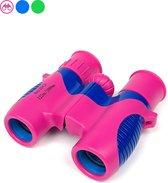 Verrekijker voor kinderen – Verrekijkers – Compact – 8x21 - Roze