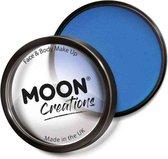 Moon Creations Schmink Pro Face Paint Cake Pots 36 Gram Blauw