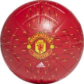 Manchester United Voetbal - Adidas - Maat 5 - Rood