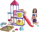 Barbie Skipper Speeltuin Speelset