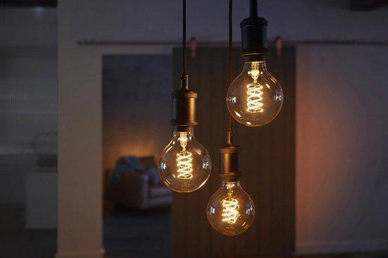 Philips Hue Slimme verlichting Filament Lamp G93 - Ø 9,5 cm - White - E27 - Bluetooth