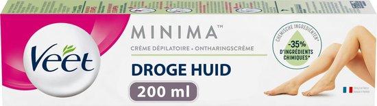 VEET ontharingscreme droge huid Minima
