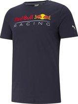 PUMA Red Bull Racing Logo Sportshirt Heren - Maat L
