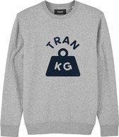 Sweater grijs Fake. – soBAD.