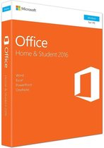 Microsoft Office 2016 Home; Student - Windows - Nederlandstalig