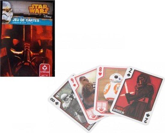 Afbeelding van het spel Star Wars Disney Darth Vader kaarten - speelkaarten - kaartspellen - speelgoed - Frans