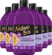 Nature Box Shower Gel Passion Fruit 6x 385 ml - Voordeelverpakking