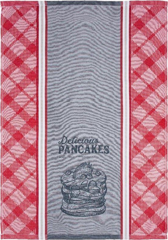 Clarysse Theedoeken Pancakes 6 stuks-Rood