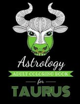 Astrology Adult Coloring Book for Taurus