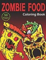 Zombie Food Coloring Book