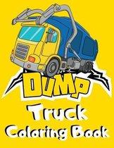 Dump Truck Coloring Book