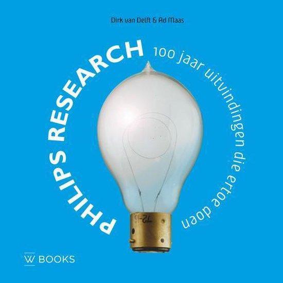Cover van het boek '100 jaar Philips research' van A.C. Maas