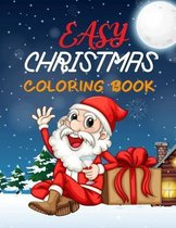 Easy Christmas coloring Book