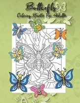Butterfly Coloring Books For Adults