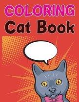 Coloring Cat Book
