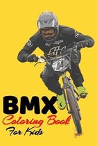 BMX Coloring Book For Kids