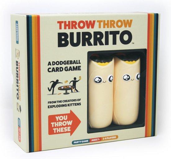 Afbeelding van Throw Throw Burrito - Engelstalig Kaartspel speelgoed