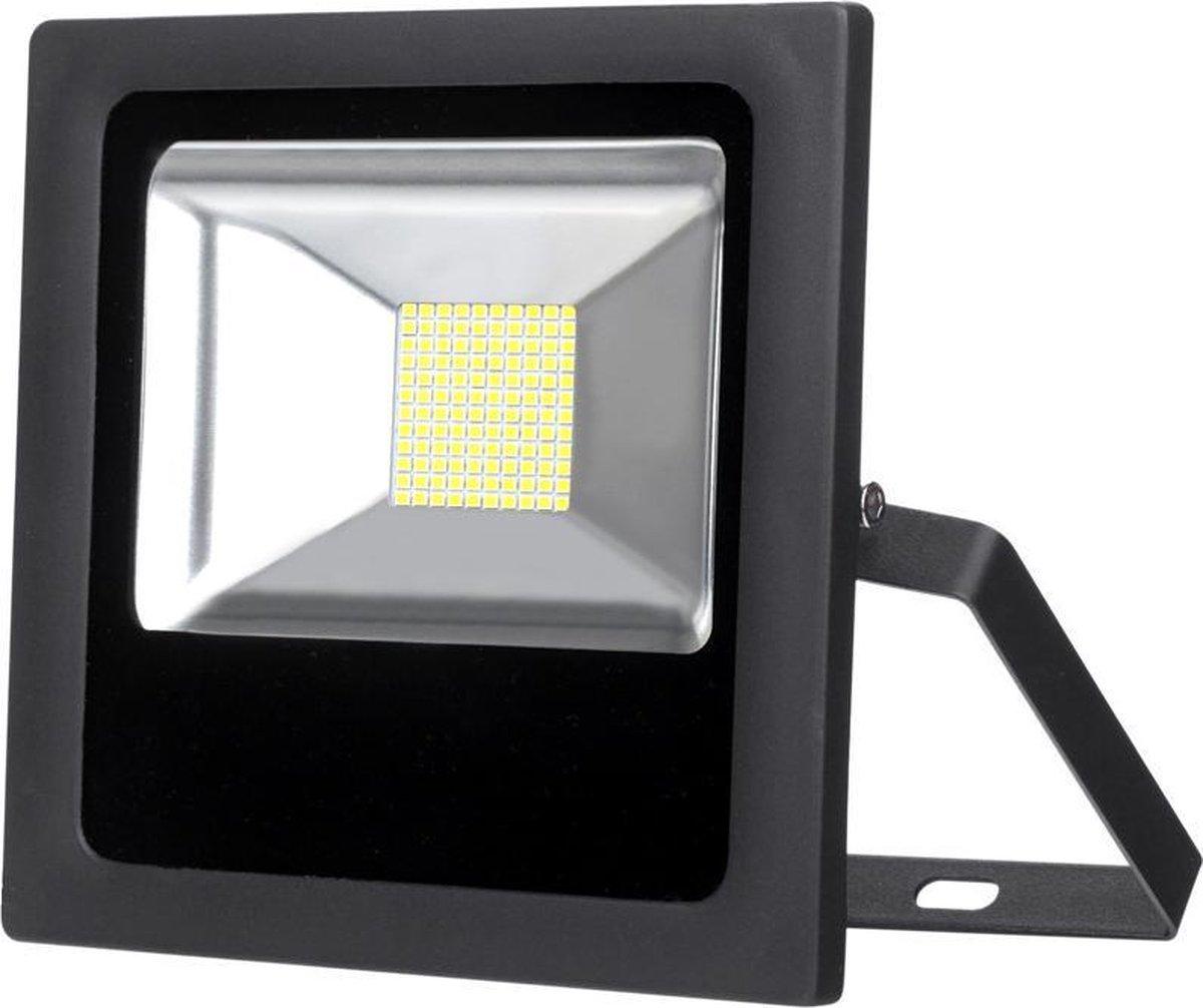 LED moderne Straler 30W - schijnwerper - IP65 RGB behuizing - zwart, met afstandsbediening