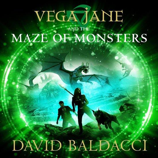 Omslag van Vega Jane and the Maze of Monsters