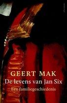 Boek cover De levens van Jan Six van Geert Mak