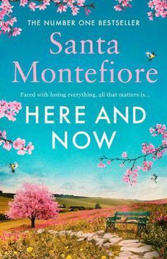 Boek cover Here and Now van Santa Montefiore (Paperback)