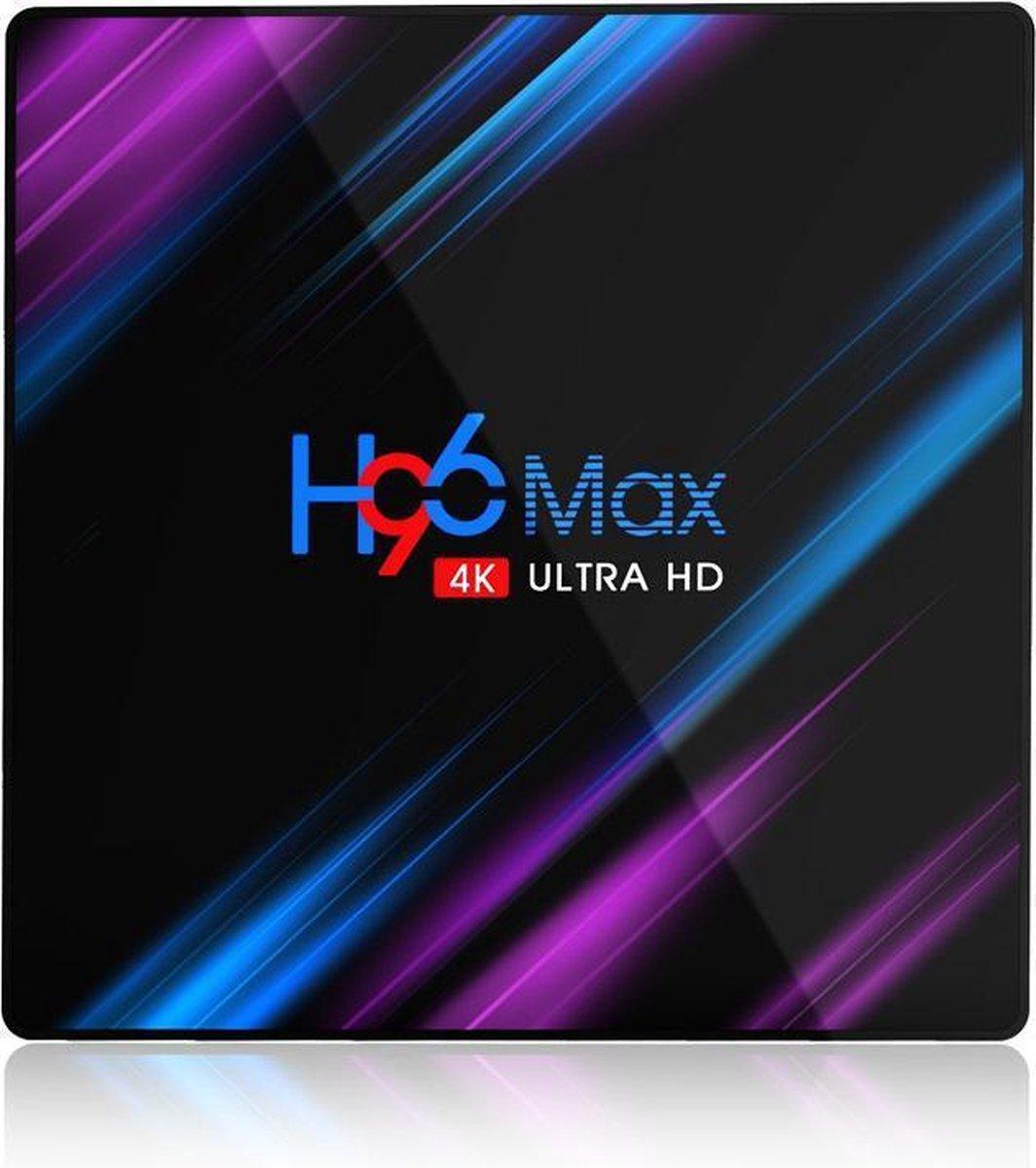H96 Max 4K Ultra HD – 4/32GB – Android 10 – media TV streaming box