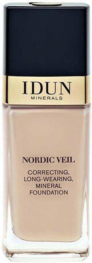 Idun Minerals Foundation – Vloeibare Foundation Disa – Licht Medium Neutraal