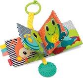 INFANTINO - knisperboekje - baby boekje stof - dieren - Multicolor