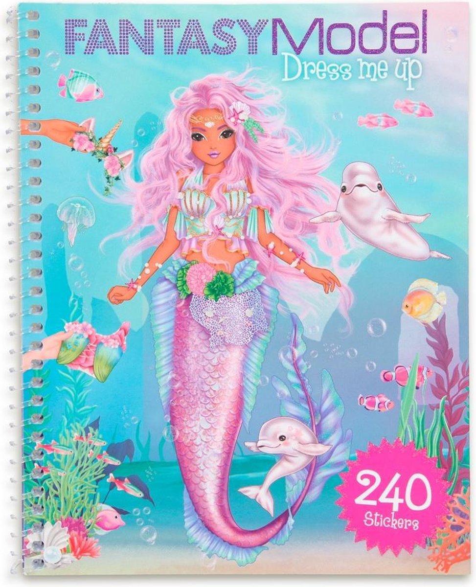 Top Model - Fantasy Model - Dress Me Up Stickerbook (0411414)