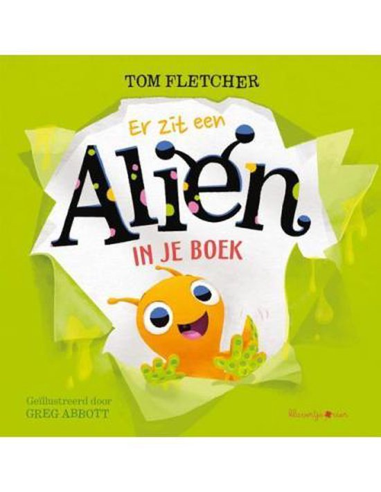 Er zit een alien in je boek 0 -   Er zit een alien in je boek