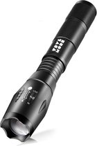 TravelMore Militaire LED Zaklamp Oplaadbaar - IPX-