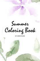Summer Coloring Book for Young Adults and Teens (6x9 Coloring Book / Activity Book)