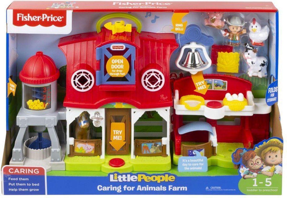 Fisher Price Little People - Dierenverzorgingsboerderij - Franstalig