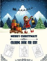 Merry Christmass Coloring Book For Kids