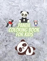 Panda Coloring Book for Kids