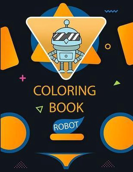 Robot Coloring Book: