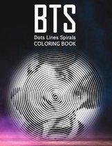 BTS Dots Lines Spirals Coloring Book
