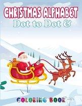 Christmas Alphabet Dot to Dot & Coloring book
