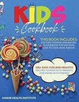 Kids Cookbook: 2 Books in 1