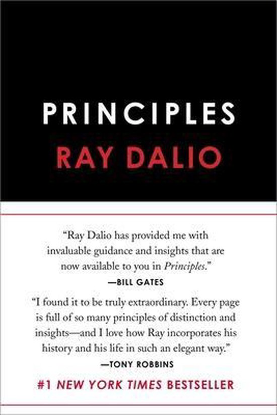 Boek cover Principles van Ray Dalio (Hardcover)