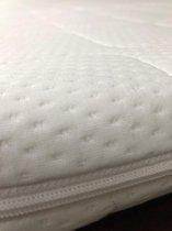 Topper - 160x200 -  7 cm hoog -  ****Hotel Topdekmatras Comfortfoam