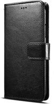 Samsung Galaxy A20S Hoesje - Portemonnee Book Case met Kaarthouder & Magneetsluiting - Zwart