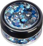 Moon Creations Glitter Makeup Moon Glitter - Mystic Chunky Glitter - Frozen Blauw